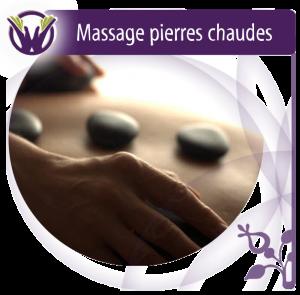 Massage aux pierres chaudes - Bourges